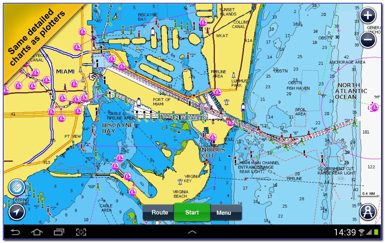 Lowrance Enhanced Lake Maps