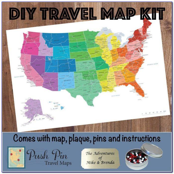 Making A Push Pin Map