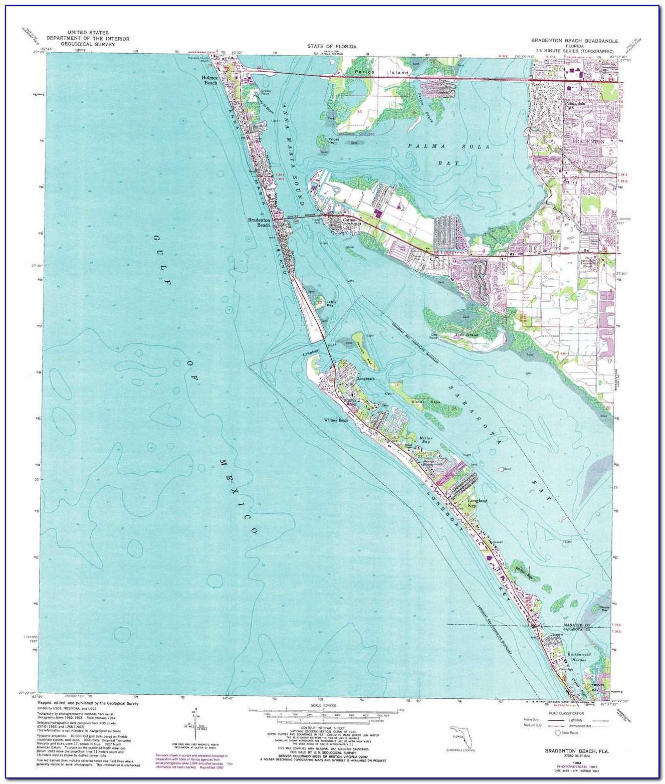Map Of Bradenton Fl City Limits