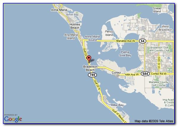 Map Of Bradenton Florida And Surrounding Area