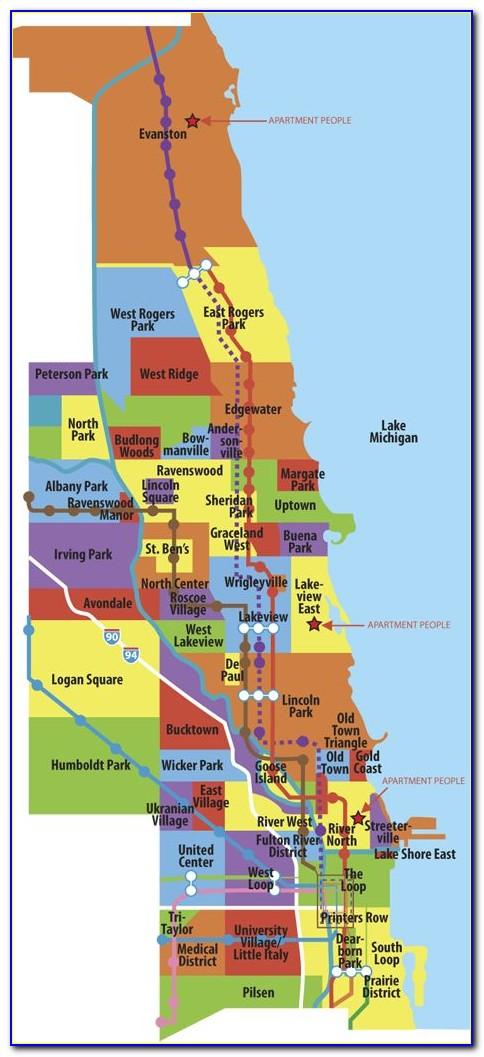 Map Of Chicago Neighborhoods By Ethnicity