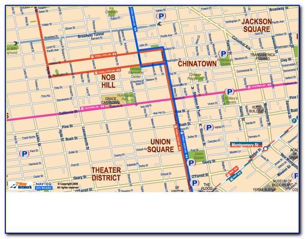 Map Of Chinatown San Francisco Ca