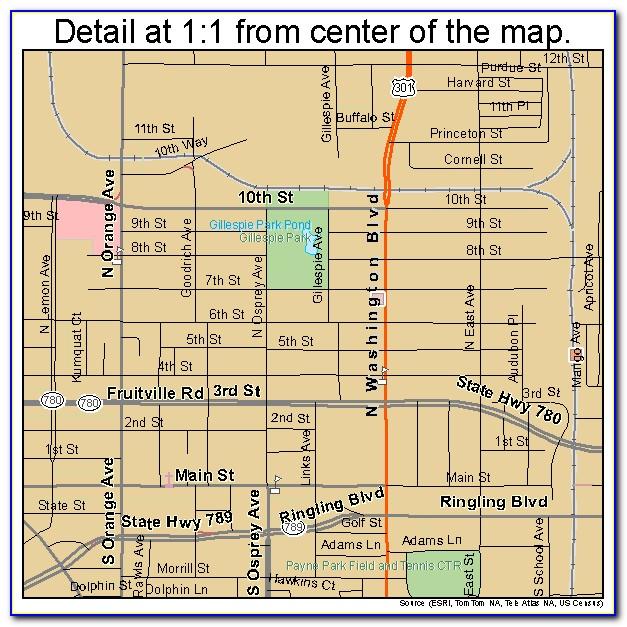 Map Of Downtown Sarasota Hotels