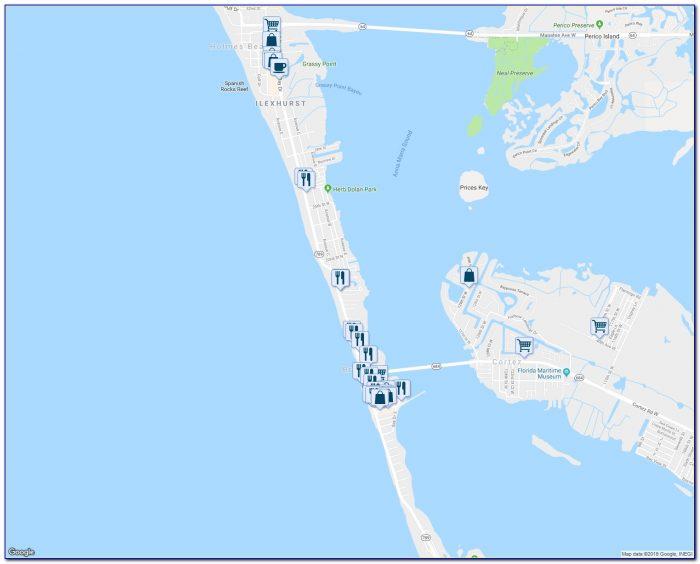 Map Of Florida Showing Bradenton