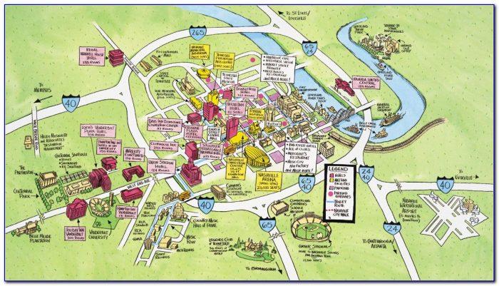 Map Of Hotels Near Nashville Tn Airport