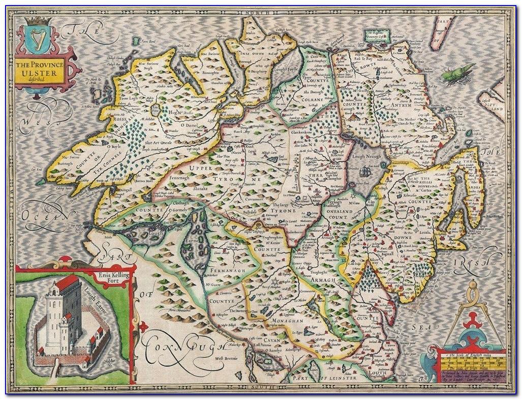 Map Of Ireland Jigsaw Puzzle Fortnite
