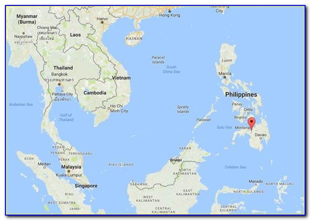 Map Of Marawi Philippines