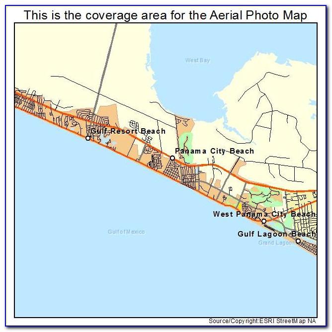 Map Of Panama City Florida Airport