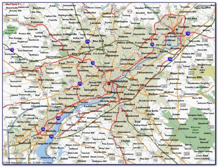 Map Of Philadelphia By Zip Code