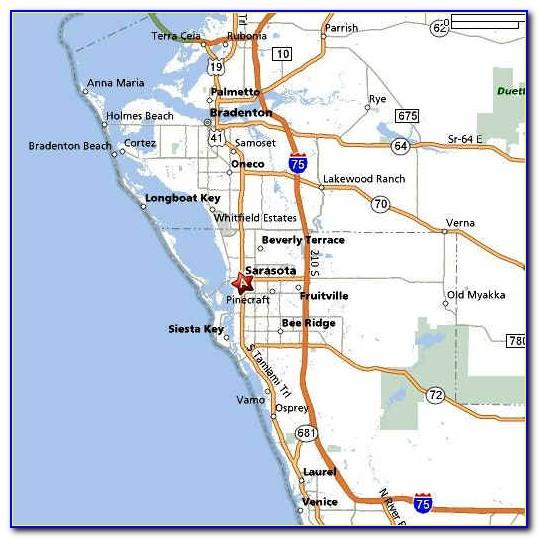 Map Of Sarasota Florida Neighborhoods