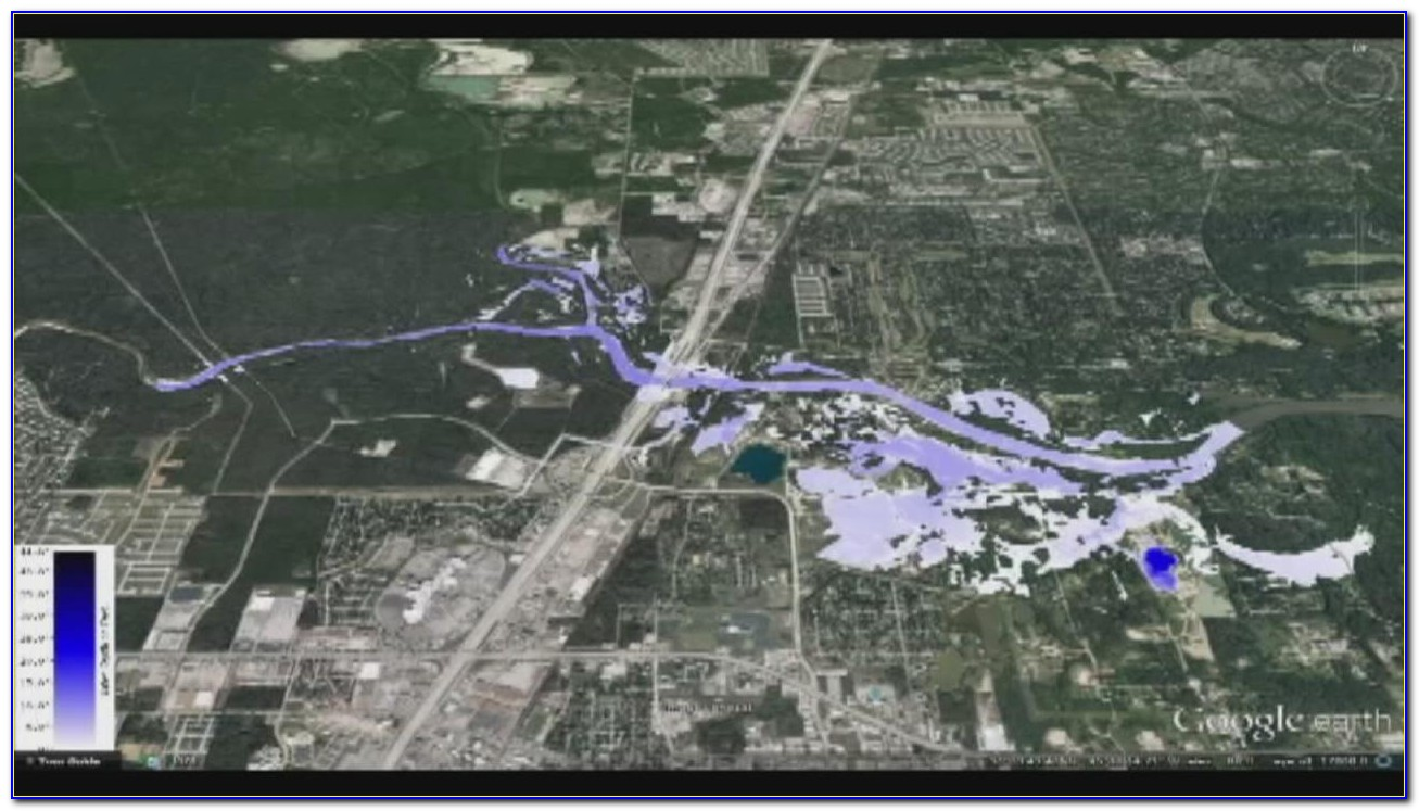 Map Of Worst Flooded Areas In Houston Today