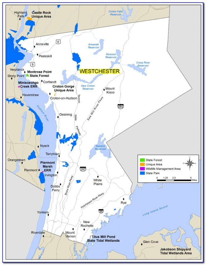 Map Westchester County Airport