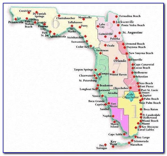 Maps Of Florida Beaches