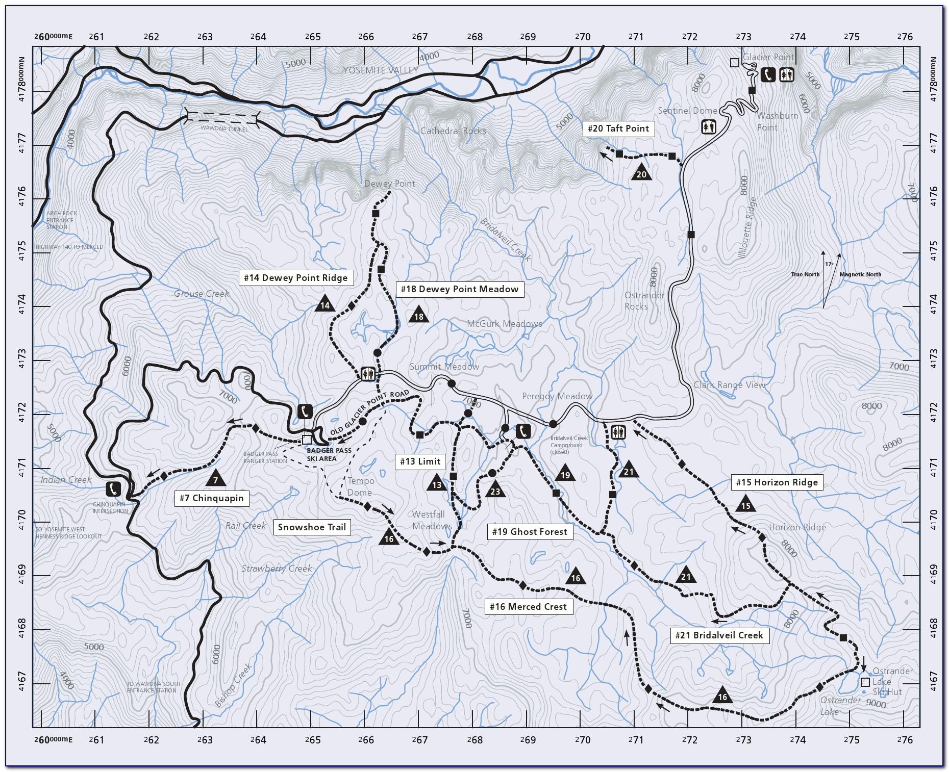 Maps Of Yosemite Fire