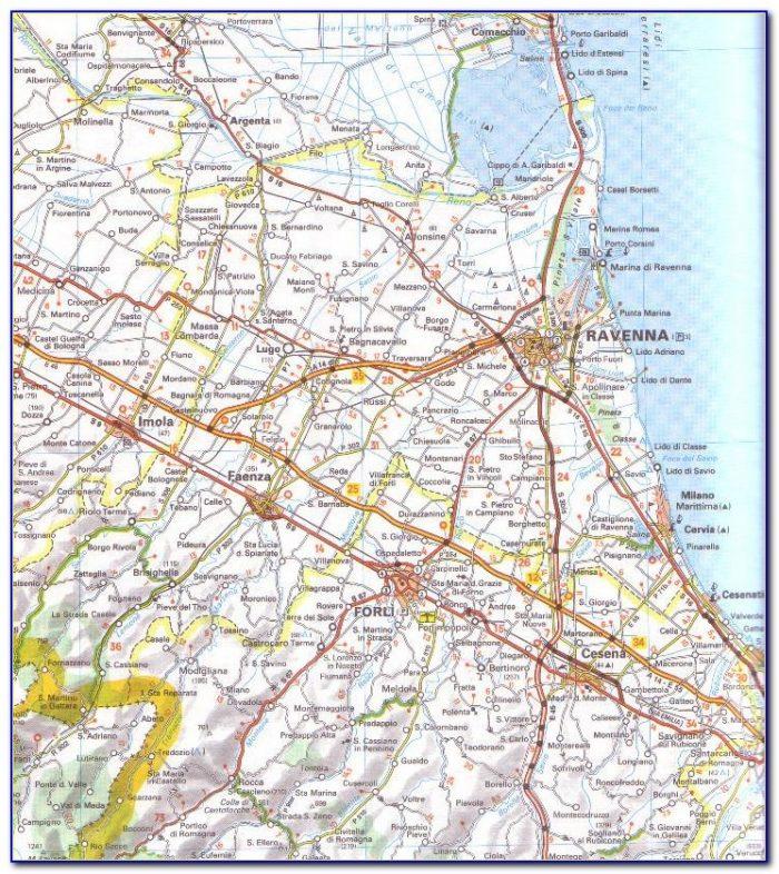 Michelin Local Maps Italy