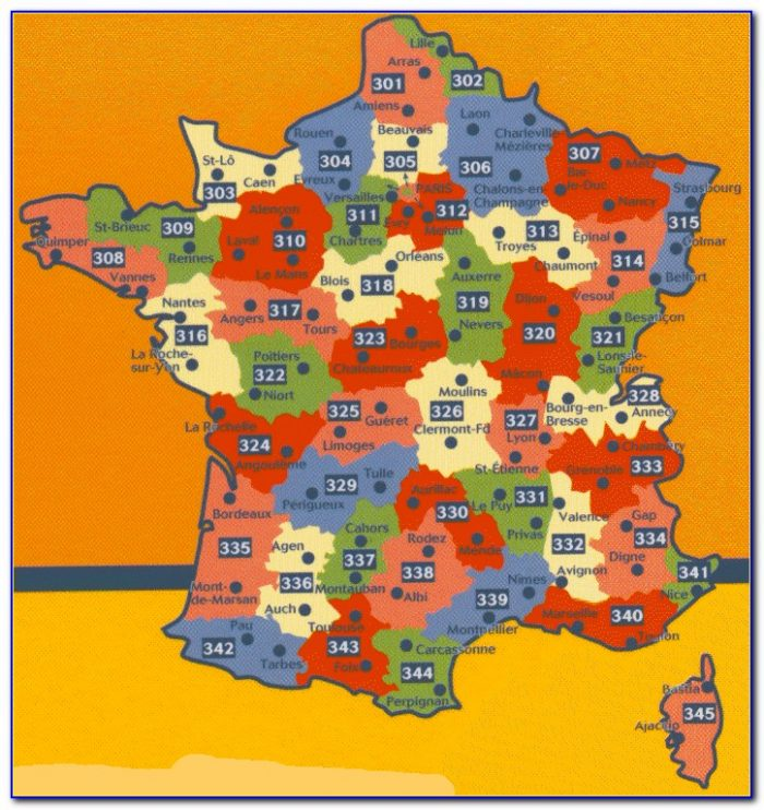 Michelin Maps France Index