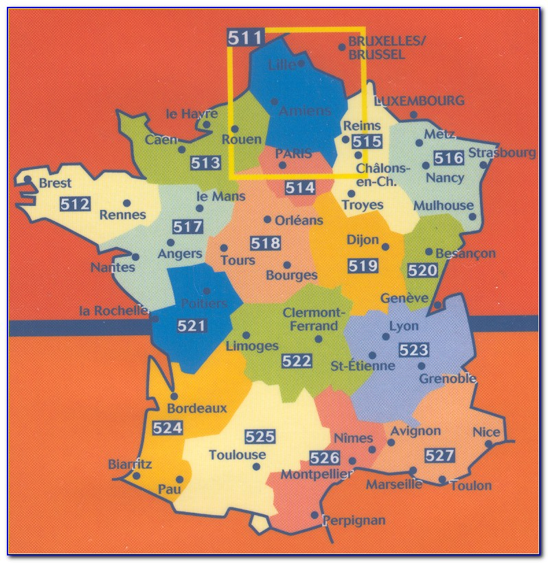Michelin Maps France Regional