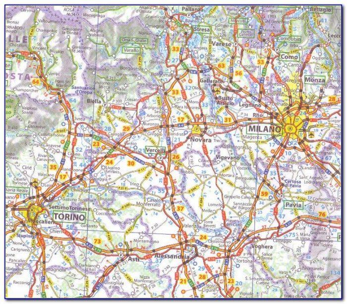 Michelin Maps Italia