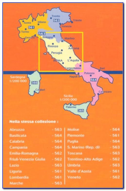 Michelin Maps Italy 353