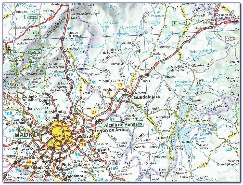 Michelin Regional Maps Portugal