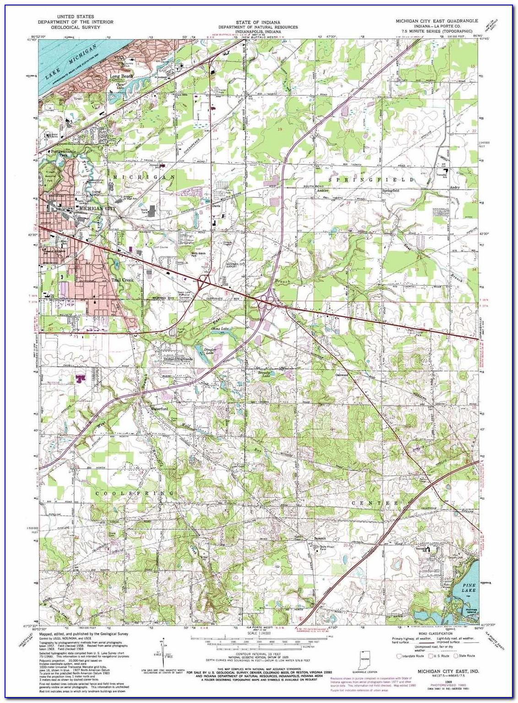 Michigan State Topo Maps