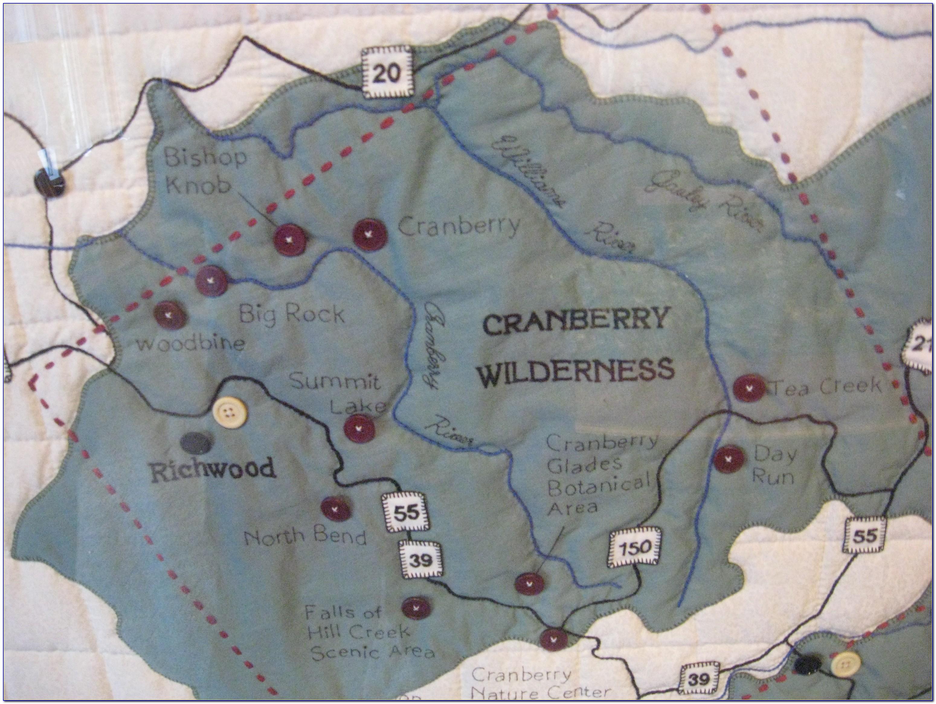 Monongahela National Forest Directions