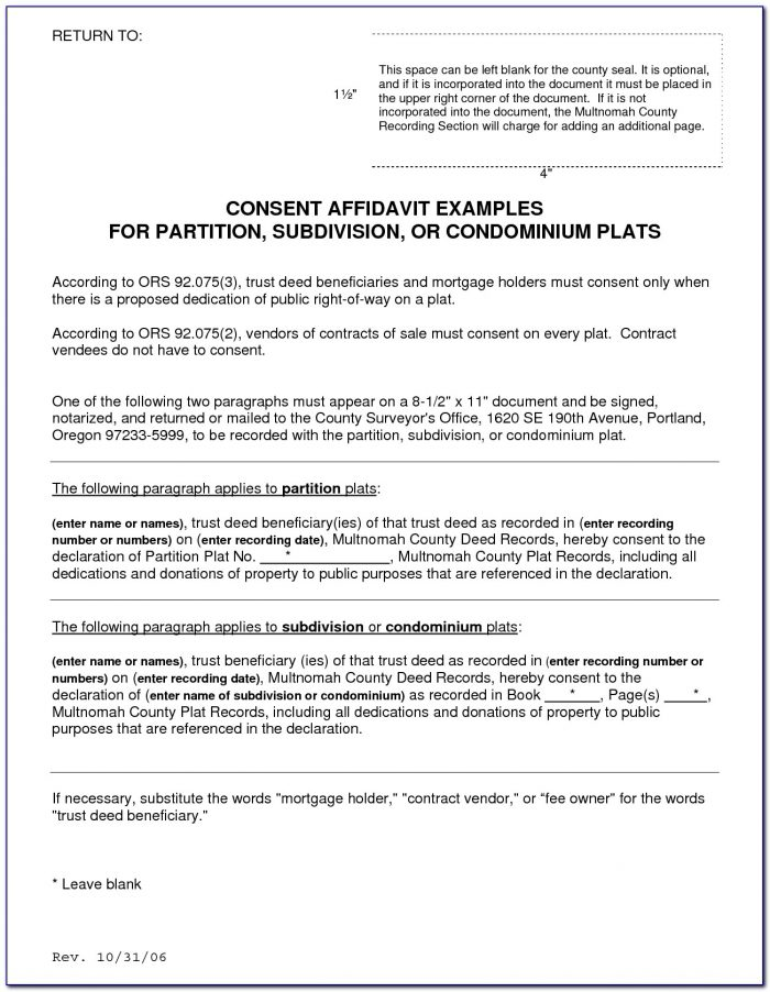 Multnomah County Divorce Paperwork