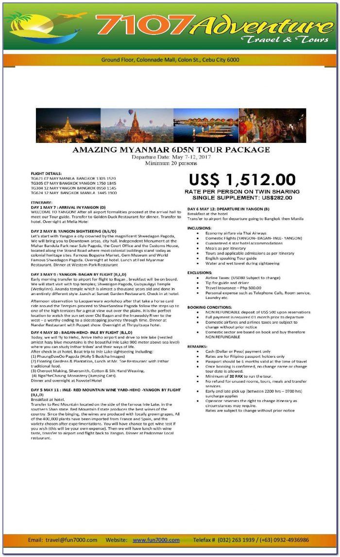 Myanmar Passport Renewal Application Form Download