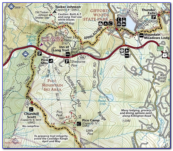 National Geographic Appalachian Trail Map Collection