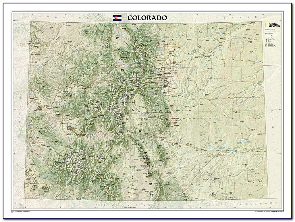 Colorado State Map.indd