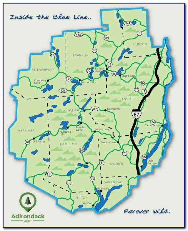 National Geographic Maps Of The Adirondacks