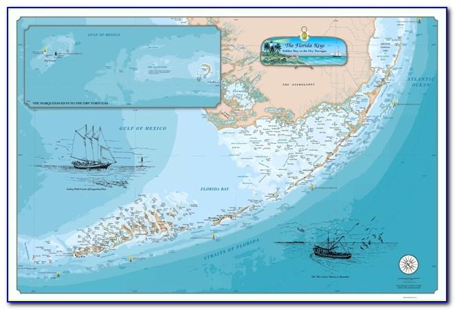 Nautical Chart Of Florida Bay
