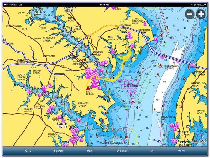 Navionics Lake Maps For Ipad