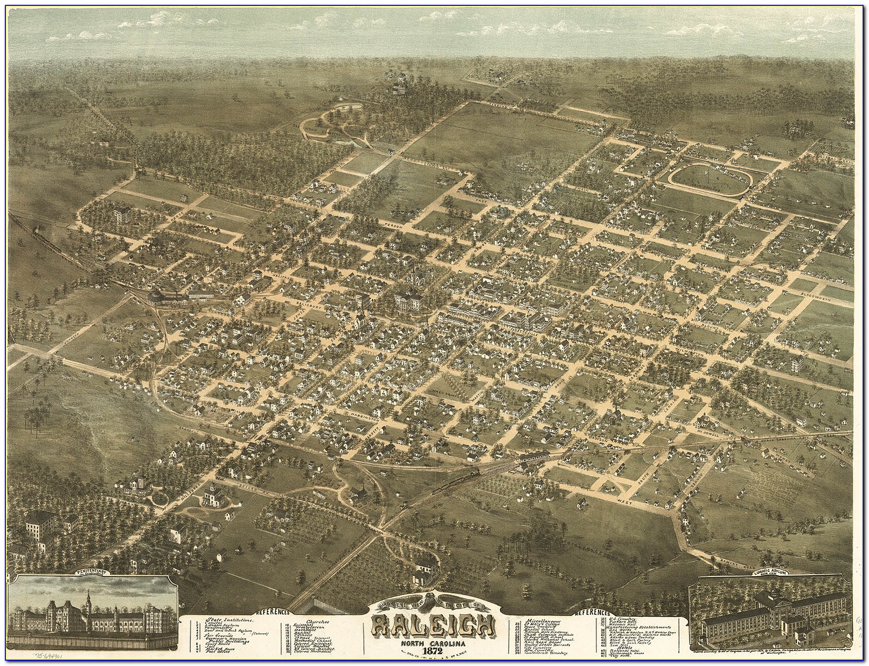 Nc Historic Road Maps