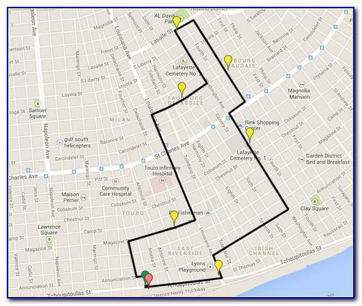 New Orleans Uptown Neighborhood Map