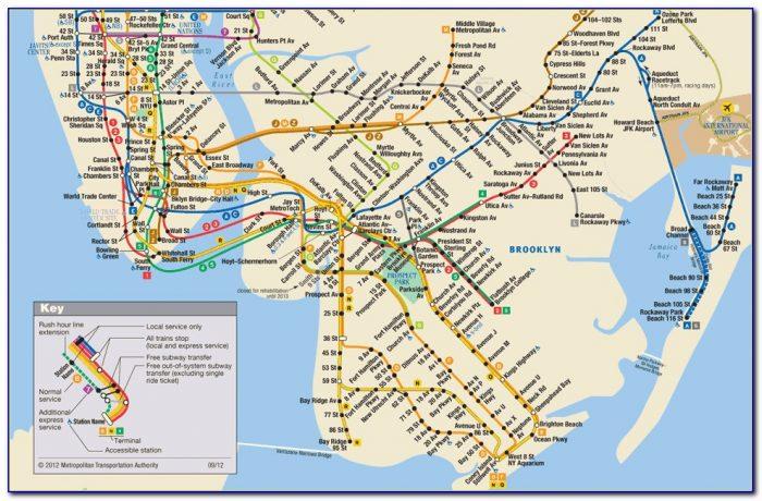 New York City Subway Google Maps