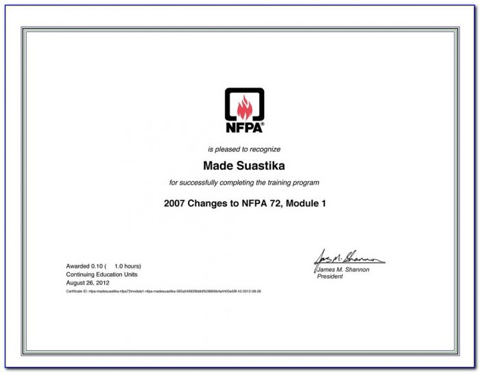 Nfpa 25 Inspection Form
