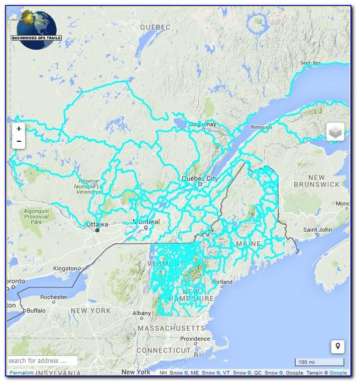 Nh Snowmobile Gps Trail Maps