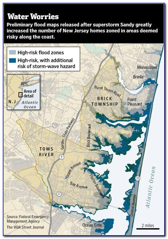 Nj Flood Zone Map 2018