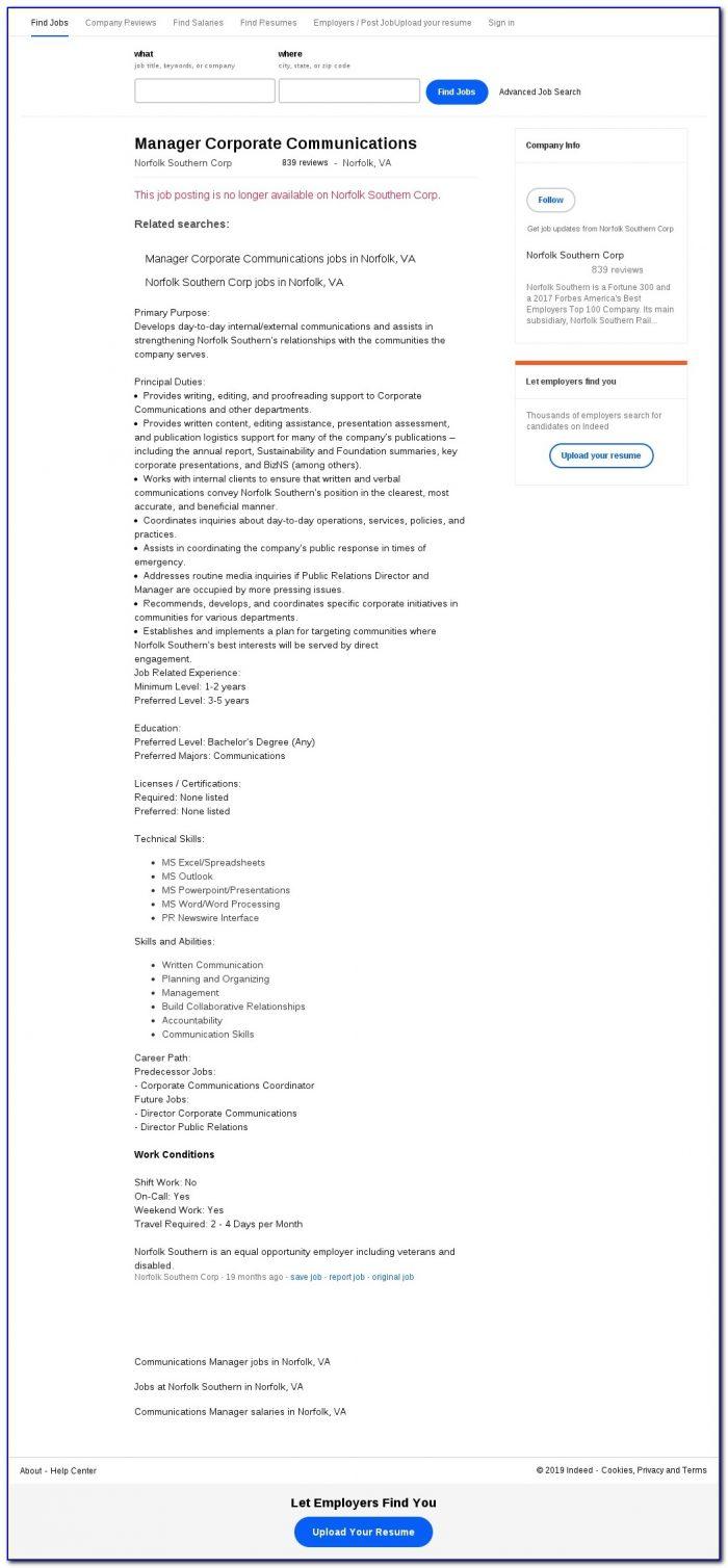 Norfolk Southern Job Application Login