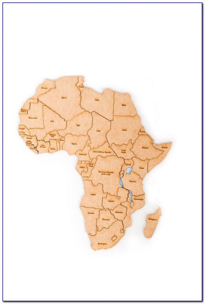 North Africa Map Puzzle