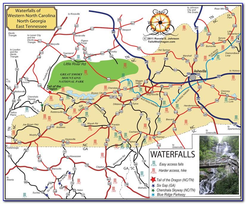 North Georgia Hiking Trail Maps