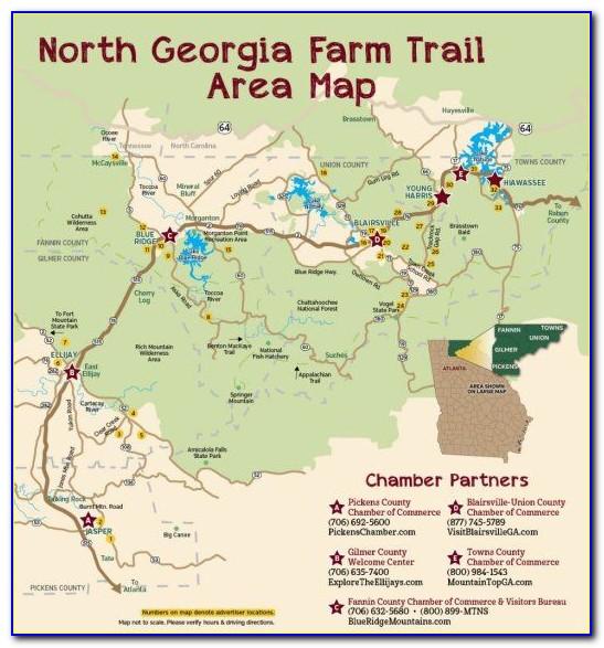North Georgia Trail Maps