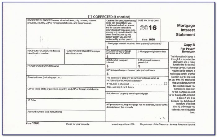 Official 1099 Misc Form