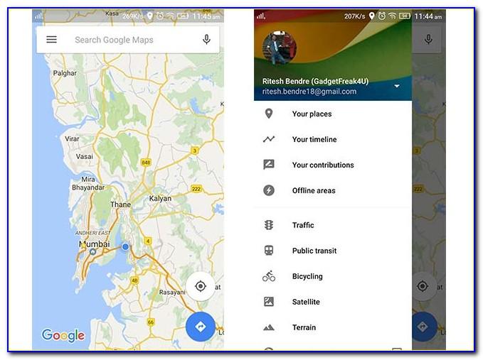 Offline Google Maps Gps Navigation