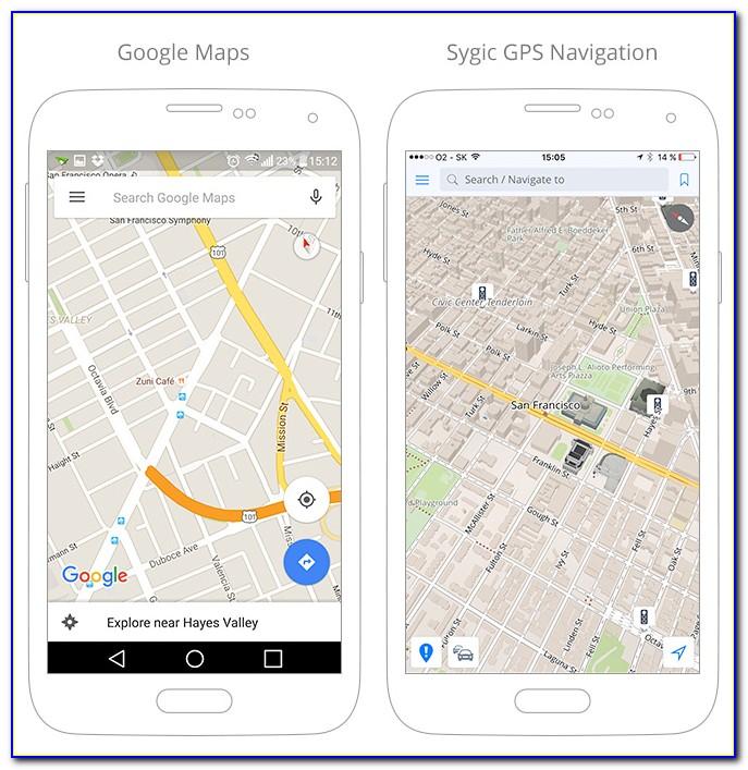 Offline Google Maps Iphone Gps