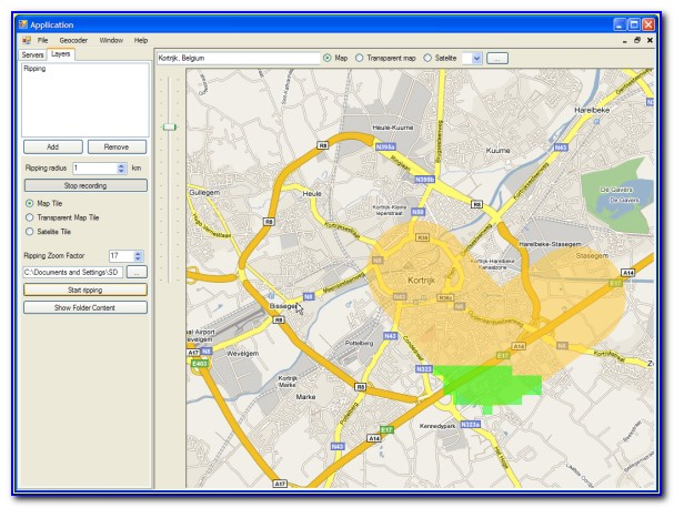 Offline Map Software For Windows