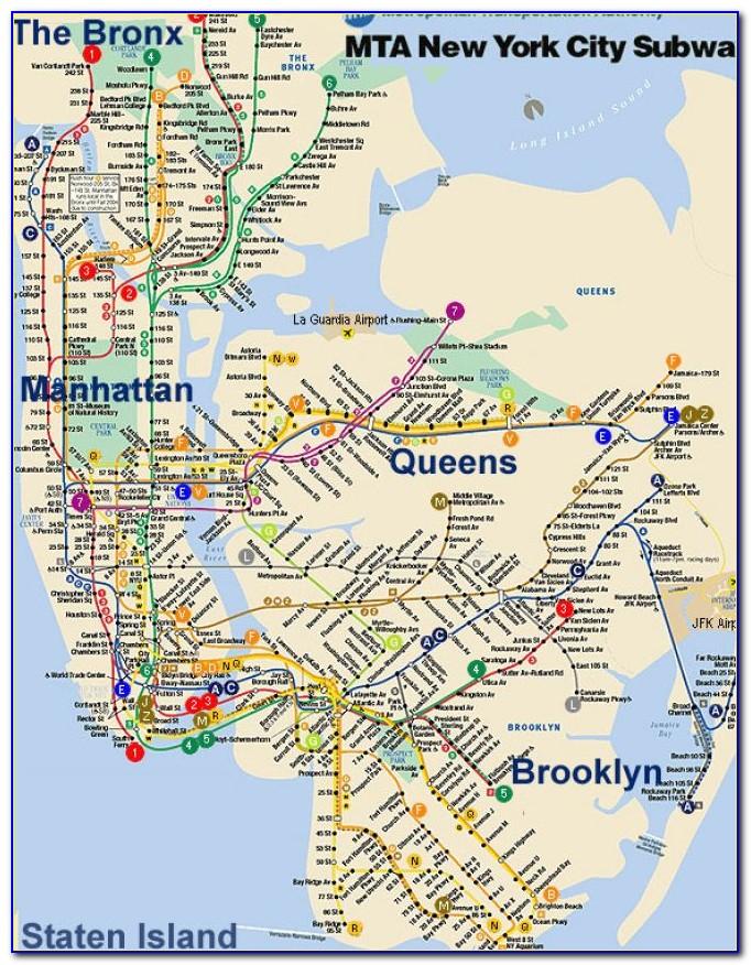 Old New York City Subway Maps