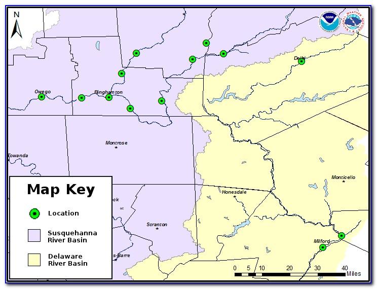 Owego Flood Map