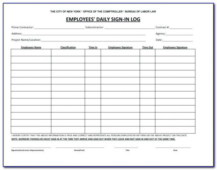 Pa Prevailing Wage Payroll Form